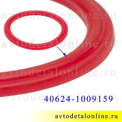 Красная силиконовая прокладка крышки маслозаливной ЗМЗ-409 и др Евро-3, 4 УАЗ, ГАЗ, на замену 40624-1009159