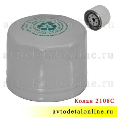 Масляный фильтр 2108-1012005 Колан, применяется в УАЗ Патриот, Хантер, Буханка с двигателем ЗМЗ-514
