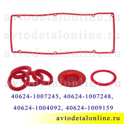 Ремкомплект прокладок клапанной крышки ЗМЗ-409 Евро-3 УАЗ, ГАЗ, Rosteco, 40624-1007245, /48/92/59, силикон