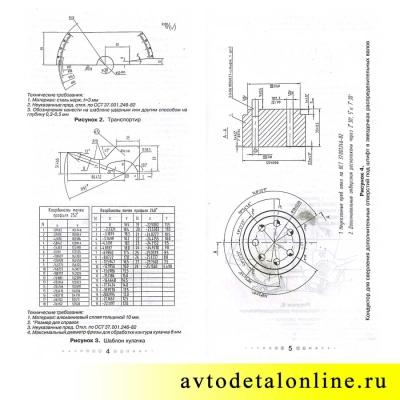 Комплект ГРМ Идеальная фаза ЗМЗ-409, 405, 406 Евро-3, установка на УАЗ Патриот и др. 406.3906625-05, инструкция