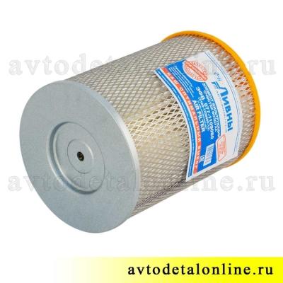 Фильтр воздушный УАЗ Патриот, Хантер, инжектор ЗМЗ-409, купить на замену, 3160-1109080-11, ЭФВ 077-1109080