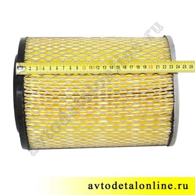 Фильтр воздушный в сборе на УАЗ Патриот, Хантер, ЗМЗ-409, купить на замену, 3160-1109080-12, размер, фото