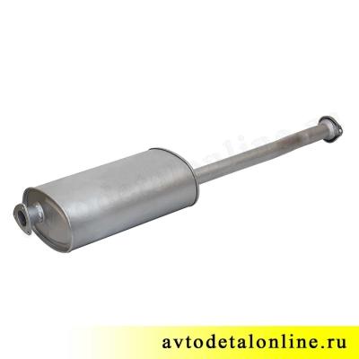 Глушитель УАЗ Патриот 3163 до 2008 г, Евро 2, фото, цена, купить на замену 31622-1201010