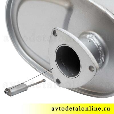 Глушитель УАЗ 3163 Патриот до 2008 г, Евро 2, фото, цена, купить на замену 31622-1201010
