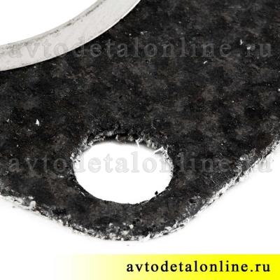 Прокладка между выпускным коллектором и приемной трубой, УАЗ 3160 Патриот, 3160-1203020, двигатель 421, фото