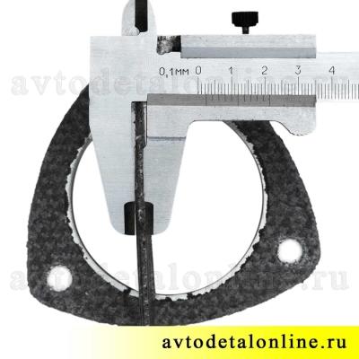 Треугольная прокладка под приемную трубу глушителя и резонатор УАЗ Патриот 3163, Хантер, 31602-1203088-10