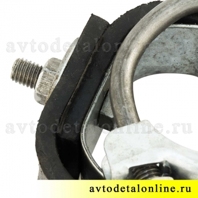 Хомут глушителя подвеска с резинкой УАЗ-469, Хантер, Буханка,  469-1203073/72/74 и 51-1203033 и 69Ю-1203031