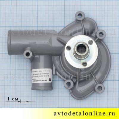 Размер водяной помпы УАЗ, Газель на двигатель ЗМЗ-406, АДС на замену насоса 4061.1307010-10, фото