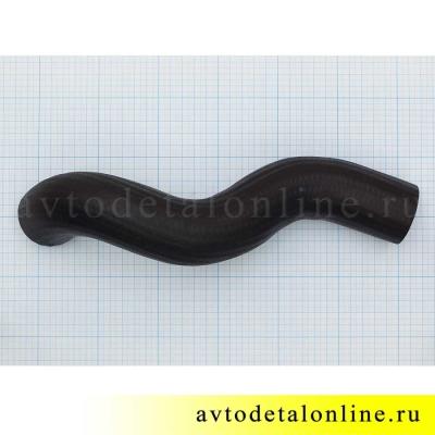 Патрубки радиатора УАЗ Патриот 409 двигатель, нижний, отводящий,  3163-1303027, диаметр на фото