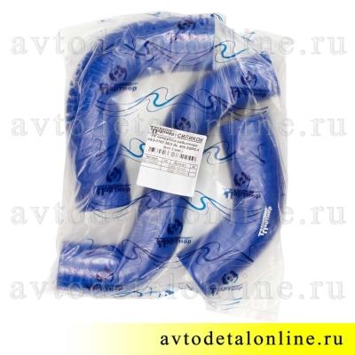 Патрубки радиатора ГАЗ-31105 дв. Крайслер, ремкомплект из 3-х шлангов, Технопартнер, Балаково фото упаковки