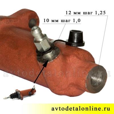 Рабочий цилиндр 31605-1602510 сцепления УАЗ Патриот купить АДС, фото