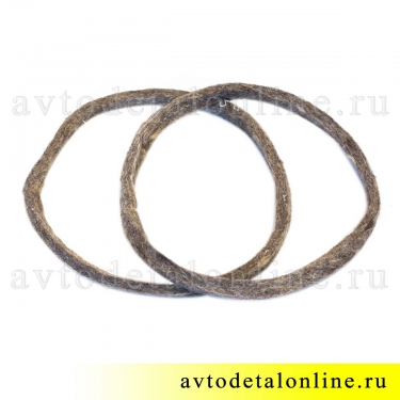 Войлочное наружное кольцо сальника поворотного кулака СП 134-120-5, УАЗ Патриот 3163, Хантер, 3160-2304055