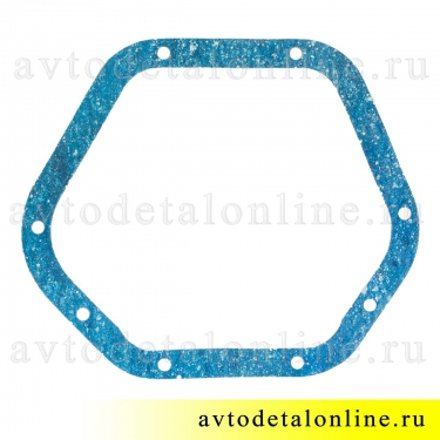 Прокладка крышки картера моста переднего и заднего УАЗ Патриот Хантер 3160-2401019-11 синяя, тонкая 0,8-1мм
