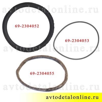 Сальник поворотного кулака УАЗ 469, 452, для замены манжеты 69-2304052, пружины 69-2304053, войлока 69-2304055