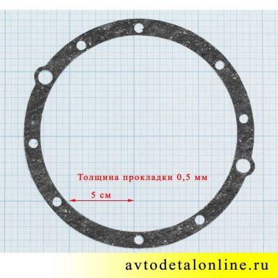 Размер прокладки сальника поворотного кулака УАЗ 3151хх, Буханка, паронитовая 69-2304057