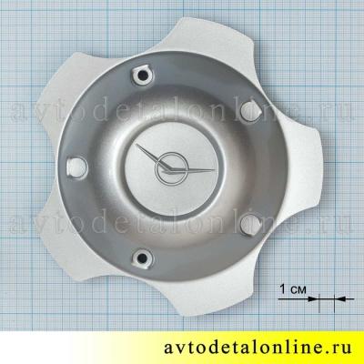Колпак диска УАЗ Патриот 3163-3102010-10, штатный, глухой, закрывает ступицу