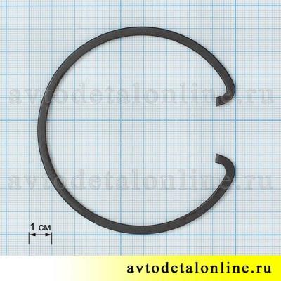 Упорное кольцо ступицы колеса УАЗ (кольцо стопорное ступицы) 69-3103024, размер на фото