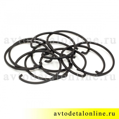 Ступичное стопорное кольцо УАЗ (кольцо упорное подшипника ступицы) 69-3103024, фото