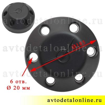 Декоративный колпак колеса УАЗ Патриот 3163-00-3102010-10, серия ПРОФИ на диск под 6 шпилек, глухой