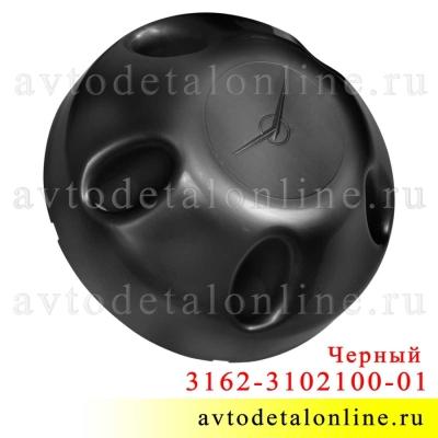Колпак колеса УАЗ Патриот, Хантер, 3162-3102100-01, 5 шпилек, глухой, черный