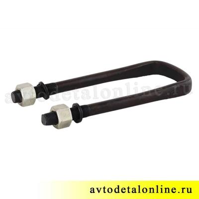 Стремянка задней рессоры УАЗ удлиненная, размер, длина 180мм, 3162-2912408-05, фото