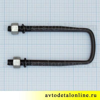 Удлиненная стремянка УАЗ длинной 180 мм размер, 3162-2912408-05 для задней рессоры, фото