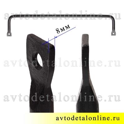 Передняя поперечная штанга-стабилизатор устойчивости УАЗ Патриот d=27, с ушами 3162-2906016, фото