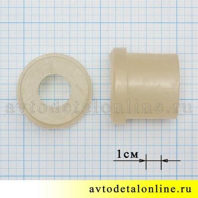 Размеры втулки рессоры УАЗ Патриот, Хантер, 3160-2912028 на замену резиновой