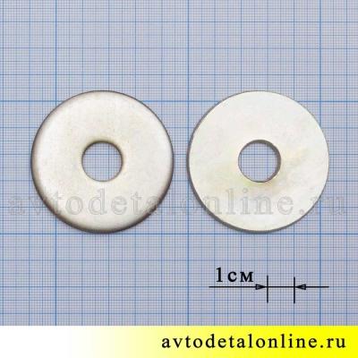 Опорная шайба оси рессоры под наружную втулку УАЗ, 356251-П4, размер 54х14,5х5