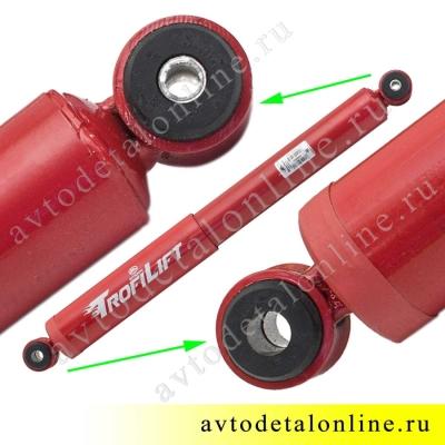 Задний амортизатор Шток-Авто УАЗ Патриот 3163 Трофи Лифт +30, задний, газомасляный, SA205-2915004-10730 фото
