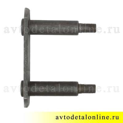 Серьга УАЗ Патриот 3163-2912458 щека внутренняя с пальцами в сборе на заднюю рессору