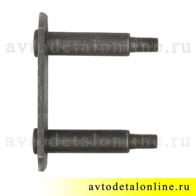 Серьга УАЗ Патриот 3160-2912458 щека внутренняя с пальцами в сборе на заднюю рессору