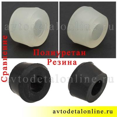 Сравнение втулки амортизатора УАЗ Патриот, Хантер на фото 451-2905432