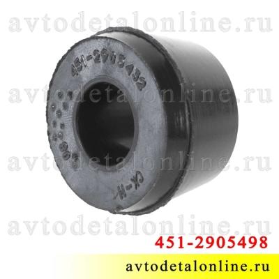 Верхняя втулка амортизатора УАЗ Патриот, Хантер, заднего и переднего, резиновая на замену 451-2905432