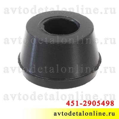 Втулка переднего и заднего амортизатора нижняя УАЗ Патриот 3163, Хантер и др. 451-2905432, общий вид на фото