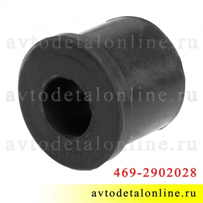 Резиновая втулка рессоры УАЗ 469-2902028 для замены на Патриоте, Хантере, Буханке и др.