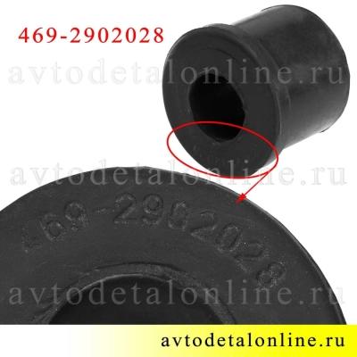 Маркировка втулки рессоры УАЗ 469-2902028 для замены на Патриоте, Хантере, Буханке и др.