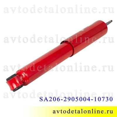 Передний амортизатор газомасляный УАЗ Патриот, ухо-ухо, Шток-Авто SA206-2905004-10730 лифт+30 мм к 3162-2905006