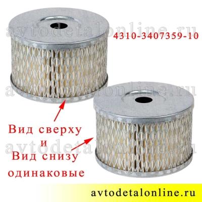 Элемент фильтрующий ГУР УАЗ Патриот 4310-3407359-10 пр-во Цитрон, он же фильтр бачка для ГАЗ, КАМАЗ, ЛААЗ