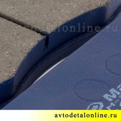 Колодки тормозные передние на УАЗ Патриот, Хантер, Буханка, 3160-3501090, МарКон купить на замену в Москве