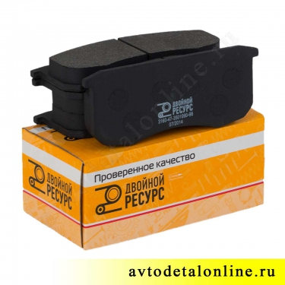 Колодки тормозные передние УАЗ-469, Патриот, Хантер, Буханка, 3160-3501090, цена, купить на замену в Москве