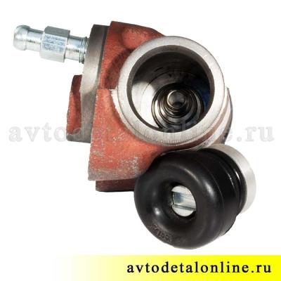 Цилиндр колесный заднего тормоза, размер диаметр 25мм, АДС, 3151-3502040, УАЗ-469, Хантер, Буханка, 31519