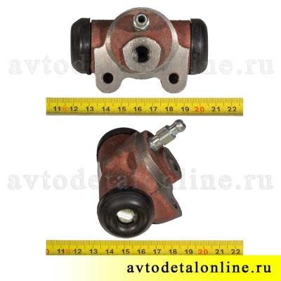 Цилиндр рабочий тормозной задний, размер 25мм, АДС, 3151-3502040, УАЗ-469, Хантер, Буханка, 31519