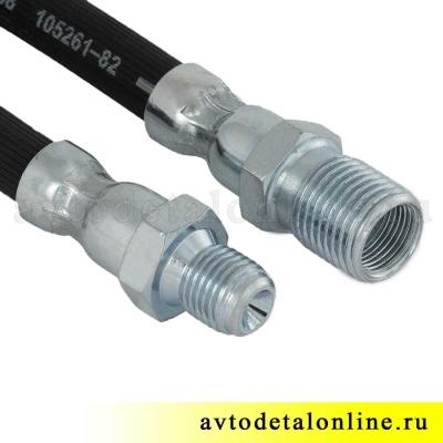 Шланг тормозной УАЗ передний, запчасть для 31512 УАЗ 2206 на замену 469-3506060, фото, цена, купить
