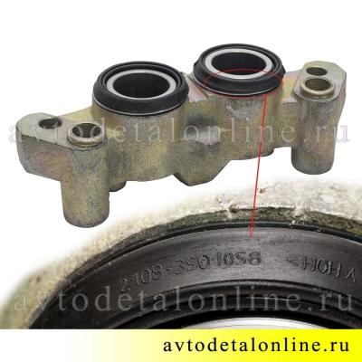 Передний тормозной цилиндр на УАЗ Патриот, Хантер, левый, для замены в сборе,  3160-3501041-10