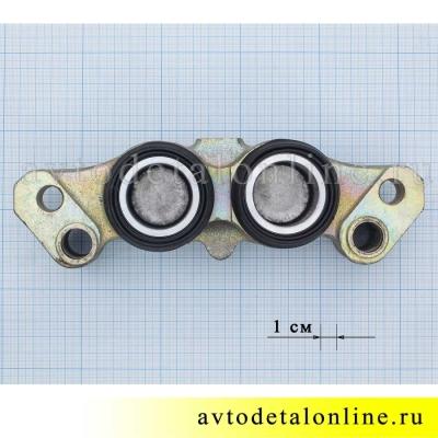 Цилиндр тормозной передний УАЗ Патриот, Хантер, правый, в сборе,  3160-3501041-10, размеры на фото