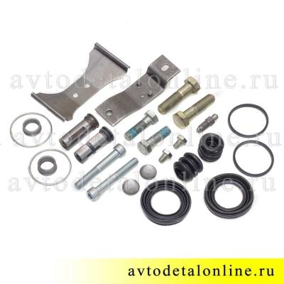 Полный ремкомплект суппорта УАЗ Патриот, Хантер с дисковым тормозом, 25 предметов.
