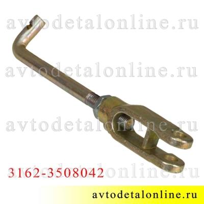 Тяга ручника УАЗ Патриот, Хантер и др. 3162-3508042, устройство регулировки стояночного тормоза в сборе