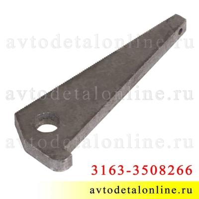 Клин стояночного тормоза УАЗ Патриот 3163-3508266 с тросом ручника на задние барабанные тормозные колодки