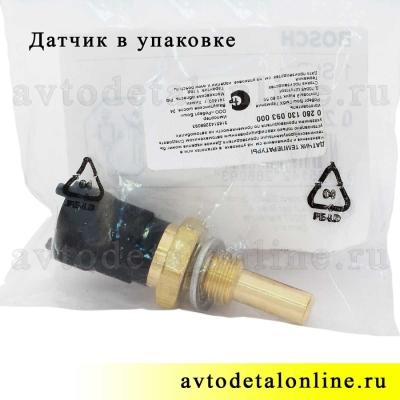 Датчик температуры двигателя ГАЗ-3302, УАЗ Патриот, Хантер, 40904.3828000 двигатель 409, Bosch 0 280 130 093